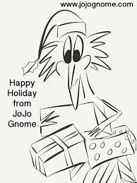 jojo gnome u0027s christmas colouring pages jojognome