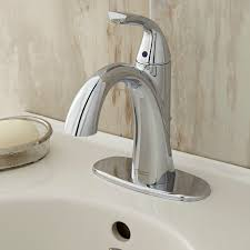 faucets for bathroom fluent single control bathroom faucet american standard