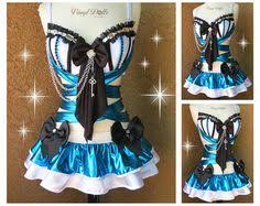 Moon Goddess Fairy Monokini Bra Cosplay Dance Costume Rave Bra by Blush U0026 Blue Mermaid Rave Rave Bra By Seagypsycouture
