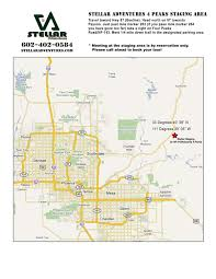 Road Map Arizona by Maps Arizona Off Road Adventure Tours By Stellar Adventures