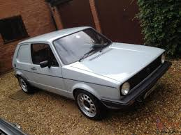 volkswagen golf mk1 modified vw golf mk1 van complete restoration by specialists including