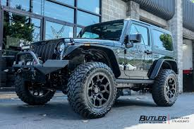 silver jeep liberty with black rims jeep wrangler vehicle gallery at butler tires and wheels in