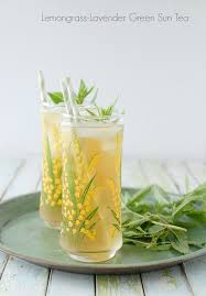 lavender tea lemongrass lavender green sun tea