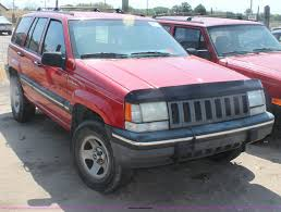 1995 jeep grand cherokee 1995 jeep grand cherokee se suv item g4586 sold thursda