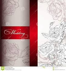 Designing Invitation Cards Elegant Wedding Invitation Card For Design Stock Images Image