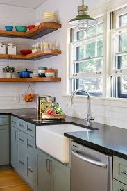 Best  Black Granite Countertops Ideas On Pinterest Black - Lining kitchen cabinets
