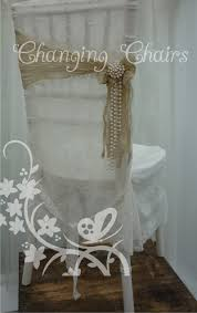 Vintage Wedding Chair Sashes Modern Vintage Wedding With Lace Chair Covers Sashes Pearls