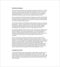 bakery business plan template u2013 10 free word excel pdf format