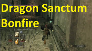 Dark Souls 2 Map Dragon Sanctum Bonfire Location Dark Souls 2 Dlc Youtube