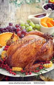 thanksgiving turkey dinner stock images royalty free images