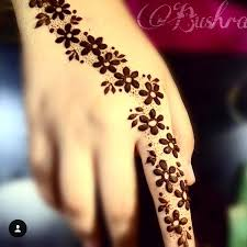 henna inspiration of the is from bushra a in with this