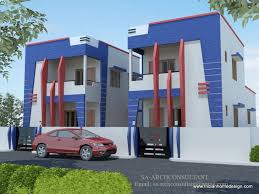 House Elevation Elevation Ideas Two Storied Twin Private House In Delhi