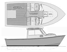 home built and fiberglass boat plans how to plywood ski chinook 19 or 20 pilothouse sportfish cruiser boat design you can