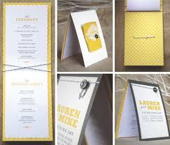 unique wedding programs sponsor introduction minted giveaway elizabeth designs