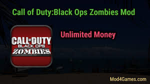 call of duty black ops zombies apk 1 0 5 call of duty black ops zombies mod unlimited money mod4games