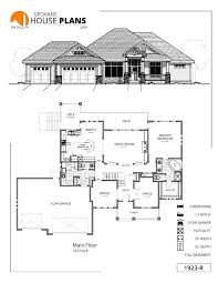 1 5 Car Garage Plans 1923 R Spokane House Plans