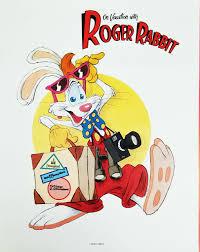 rabbit poster deja view roger rabbit poster