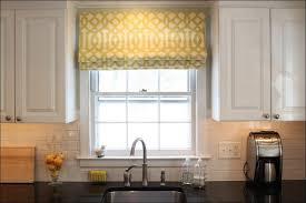 modern kitchen curtains diy no sew faux roman shade medium size
