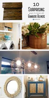 Bamboo Blinds Made To Measure 10 Surprising Ways To Reuse Old Bamboo Blinds The Finishing Touch