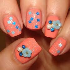 Nail Decorations Wendy U0027s Delights Flower Rhinestone U0026 Pearl Nail Decoration