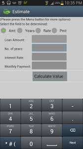Estimate Mortgage Rate by Mortgage Auto Loan Calculator Android Apps On Play
