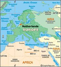 where is amsterdam on a map netherlands map geography of netherlands map of netherlands