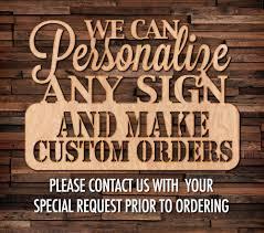 custom wood signs home decor and wall decor u2013 bayou woodworks