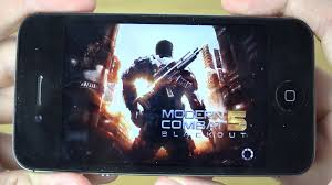 modern combat 5 iphone 4s 4k gaming review youtube