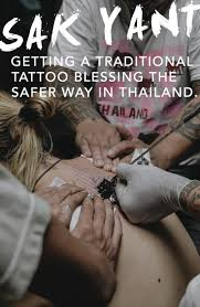 the safer way to get a sak yant tattoo blessing in thailand monk