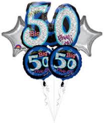 50th birthday balloon delivery 50th birthday