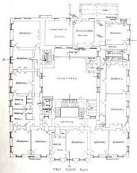 Georgian Mansion Floor Plans Classical Revival House Plan Seattle Vintage Houses 1908