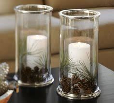 Christmas Hurricane Centerpiece - pin by giusy on candele pinterest messages
