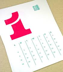 Modern Desk Calendar by Typography Calendar Google Search Dorothy Boldtype Pinterest