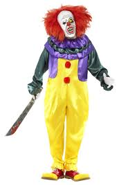 clown costumes classic horror clown costume