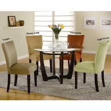 elegant round glass dining room table 73 with additional small