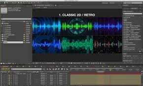 music visualizer kit by gesh tv videohive