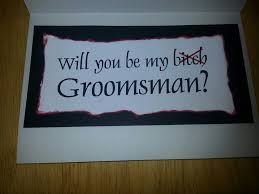 groomsmen invite inside part 2 wedding wedding
