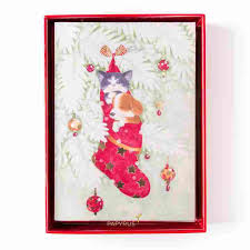 boxed christmas cards naptime boxed christmas cards set of 14 sale
