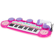 musical kids electronic keyboard 37 key piano w microphone