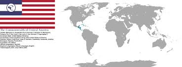 Central America Map With Capitals 2001 The Commonwealth Of Central America By Terrantechnocrat On