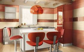 creative kitchen knives kitchen red contemporary chairs white modern stained wooden table