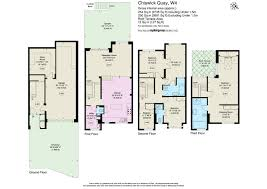 west quay floor plan 4 bed terraced house for sale in chiswick quay chiswick london