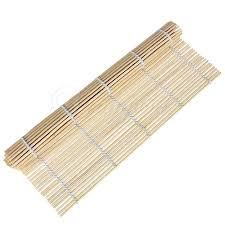 materiel cuisine japonais japonais natte a sushi en bambou roll mat tapis cuisine japonaise