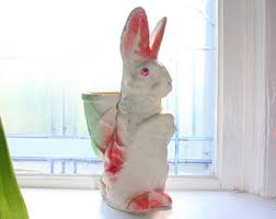 easter bunny candy vintage easter bunny etsy