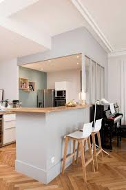 bar de cuisine moderne table de cuisine blanche 3 d233couvrez nos 84 jolies propositions