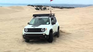 jeep beach wallpaper 2015 jeep renegade trailhawk pismo beach youtube