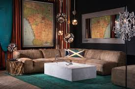home decor brown leather sofa living room creative and inspiring eclectic vintage room designs