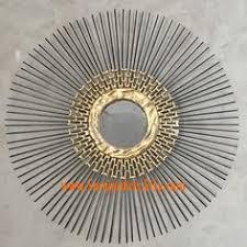 Handmade Home Decor Gold Starburst Mirror Sunburst Mirror 27in Sparkle U0026 Shine 1007
