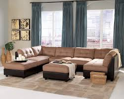 furniture cheap sectional sofas in cream and black on white