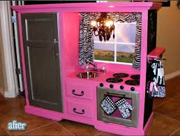 homemade play kitchen ideas must make i need another baby girl first i must make this